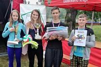 Vítězné družstvo ze ZŠ Lipenec