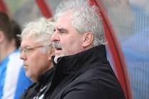 Nový trenér Žatce Pavel Koutenský (vpravo). Vlevo šéf klubu Pavel Maňák.