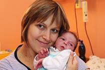 Dominik Skalický z Blšan se narodil 23. listopadu ve 4.55 hodin v chomutovské porodnici mamince Michaele. Měřil 48 centimetrů. Gratulujeme.