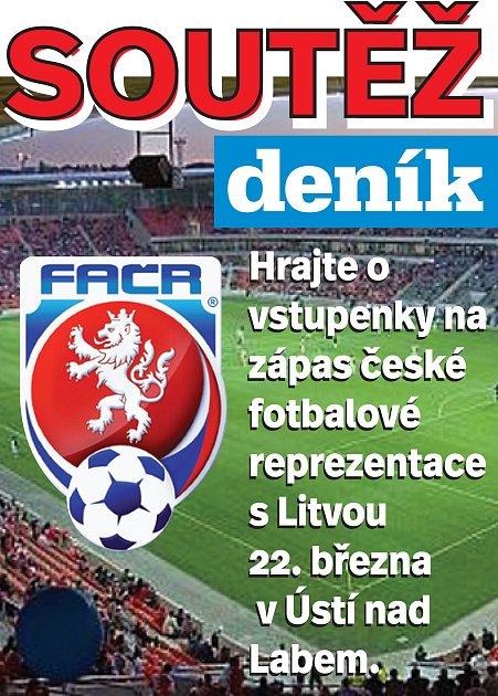 Hrajte sDeníkem olístky na utkání české fotbalové reprezentace proti Litvě