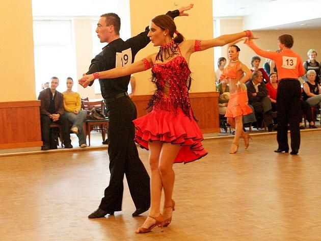 Taneční soutěž v Podbořanech