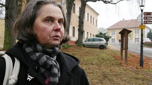 Ředitelka Galerie Benedikta Rejta v Lounech Alica Štefančíková byla krádeží otřesena.
