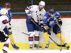 Hokejisté Loun (v bílém). Ilustrační foto.