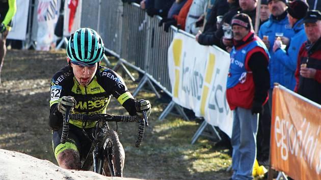 Pavel Jindřich se jako nadějný junior mohl zúčastnit republikového šampionátu dospělých cyklokrosařů v Jičíně, bojoval tam o nominaci na světové poháry a mistrovství světa.
