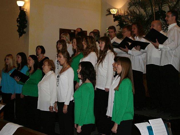 Vánoční koncert Kvítku.