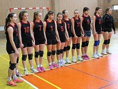 Žatecké volejbalistky vyhrály čtvrté kolo Poháru nadějí, které se tentokrát hrálo v jejich domácí hale Severu.