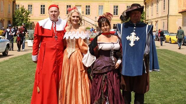 Letní slavnosti na zámku v Krásném Dvoře.