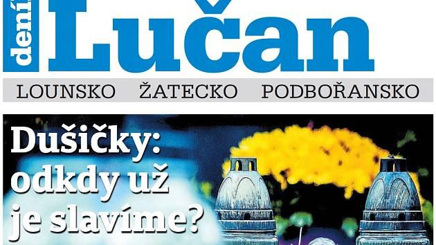 Týdeník Lučan z 30. října 2018