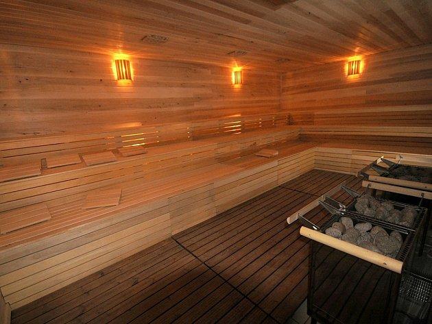 Sauna v Žatci.