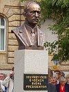 Slavnostní odhalení busty E. Beneše