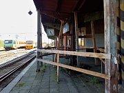 Vlakové nádraží Žatec západ