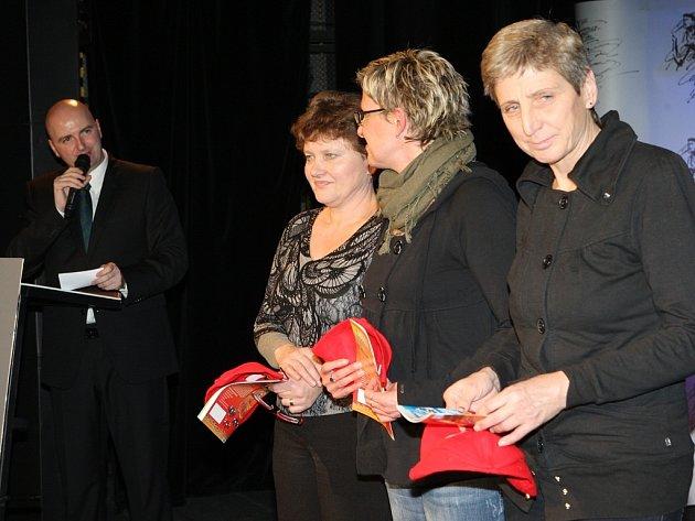 Slavnostní vyhlášení vítězů ankety Nejlepší sportovec okresu Louny 2012