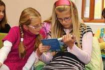 Děti čtou v lounské knihovně