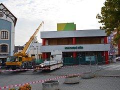Kompletní renovace podbořanského kulturního centra přijde na více než 15 milionů, město na ni získalo dotace.
