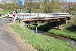 Silniční most přes Blšanku u Stránek na Žatecku