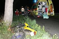 Motorkáři skončili v nemocnici
