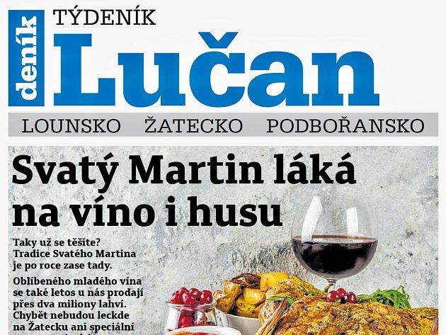 Týdeník Lučan z 6. listopadu 2018