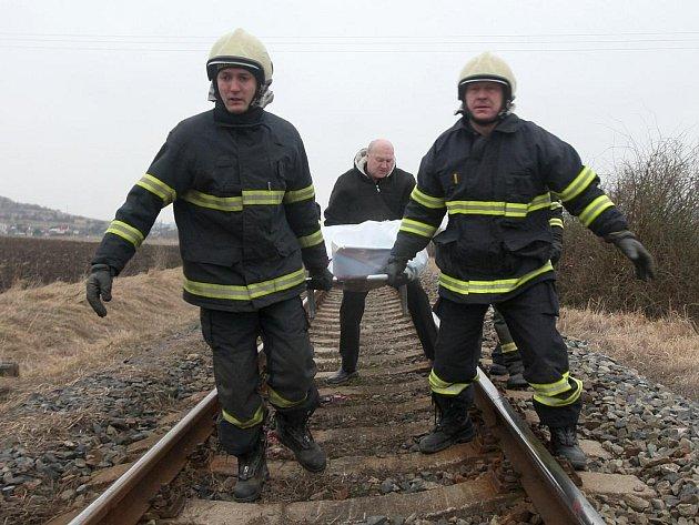 Sebevrah nepřežil střet s vlakem. Ilustrační foto
