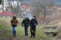 Pochod Předjaří v Poohří ve Slavětíně