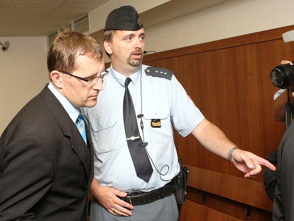 Petr Hinterholzinger ulounského soudu 22.června