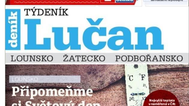 Nový týdeník Lučan.