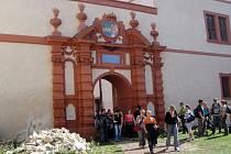 Zámek Nový hrad Jimlín otevírá v pondělí.