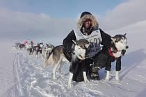 Lukáš Klíma za Žatecka dokončil extrémní závod psích spřežení Femundlopet ve Skandinávii.