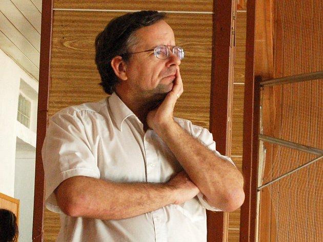 Trenér Josef Popelka