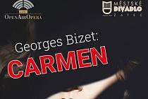 Prožijte drama s Carmen! V letním amfiteátru v Žatci ve Vrchlického ulici.