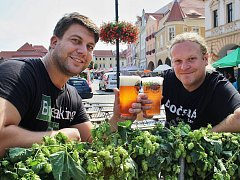 Jan Mlčoch (vlevo) a Jaroslav Reitschlager na jednom z předchozích ročníků Dočesné