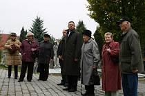 Lidé si připomněli den vzniku samostatného československého státu a konec 1. světové války.