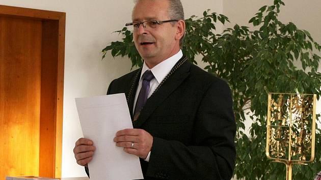 Místostarosta Loun Pavel Csonka