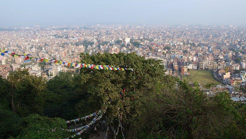 Hlavní město Nepálu, milionové Káthmandú