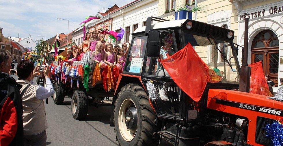 Postoloprtské slavnosti tentokrát na karnevalové téma