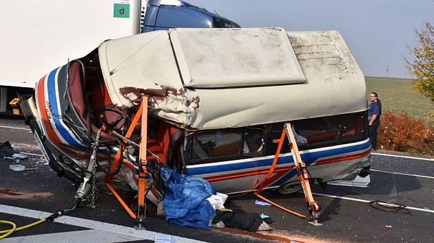 Tragická nehoda u Hořešovic.