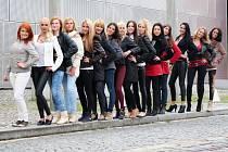 Finalistky pro soutěž Miss Chrámu chmele a piva 2014
