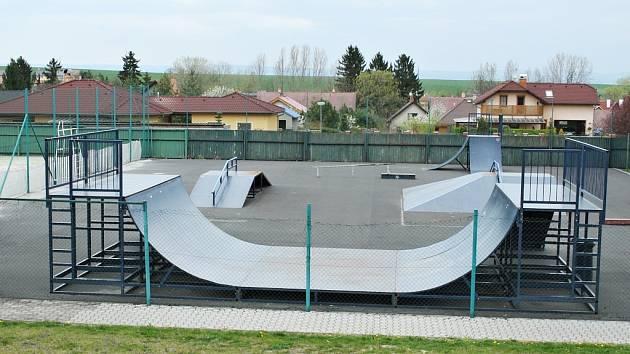 Skatepark je nyní v sousedství Tatranu.