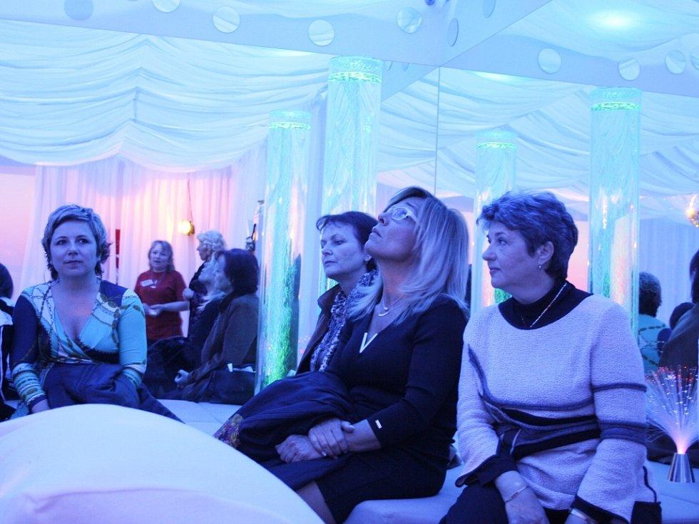 Relaxační, terapeutický a aktivační prostor Snoezelen ve Speciální ZŠ Louny