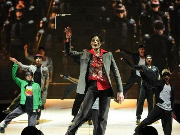 Michael Jackson ve snímku This is it