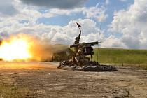 Vojáci s novými raketovými komplety sestřelí i velmi malé cíle.