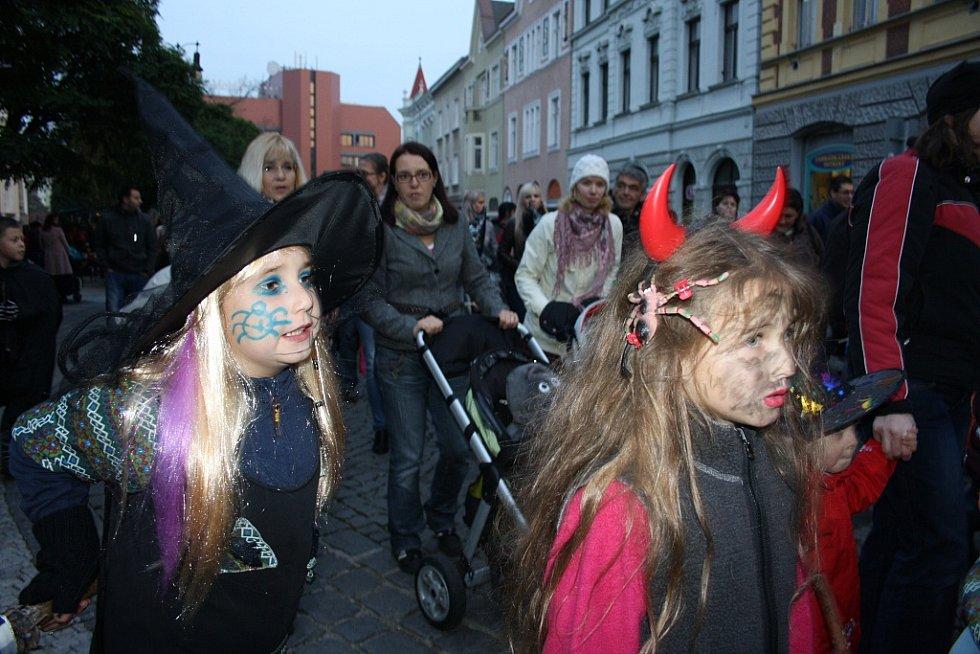 Pohádkový Halloween v Lounech