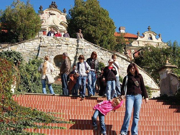 Dny evropského dědictví na zámku ve Stekníku, který je jinak pro návštěvníky uzavřen