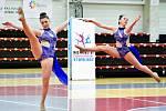 Anna Trnková přivezla z mistrovství ČR v twirlingu čtyři medaile
