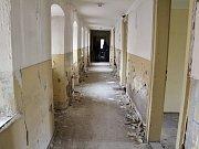 Vnitřní prostory bývalého kláštera v Žatci
