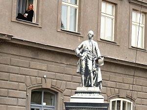 Den památek - vzpomínka na sochu císaře v Žatci