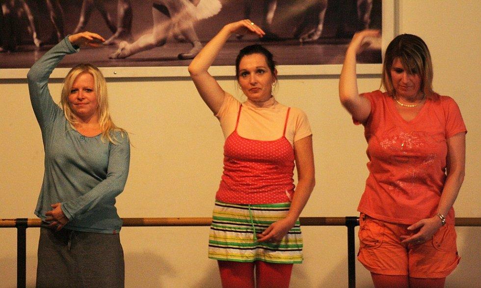 Ďivadelní soubor Klouzák zpestřil odpoledne hrou Baletky