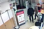 Přepadení banky v Podbořanech 21. září 2017 krátce před 14. hodinou