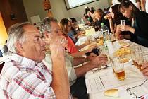 Degustace piv v Žatci