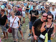 Hudební festival ve Vroutku.