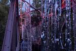 Třetí ročník festivalu Kouzlo světla ovládl lounské výstaviště.